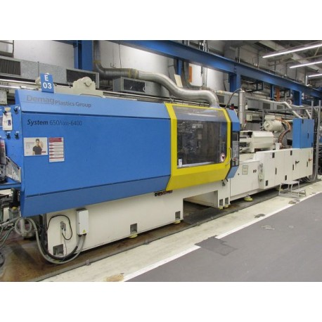DEMAG 650T System 650/1000 - 6400 ANNEE 2009